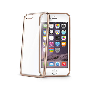 Celly BCLIP6SGD iPhone 6s Gold Laser Kılıf