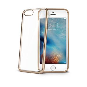 Celly iPhone 7 Plus Gold Laser Kılıf