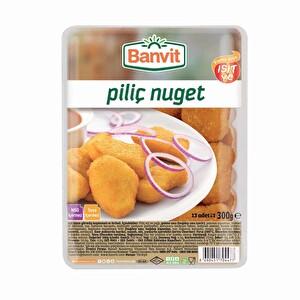 Carrefoursa Banvit Piliç Nugget / Schnitzel 300 gr 1 Alana 1 Bedava!
