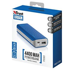 Trust Primo Powerbank 4400 Taşınabilir Şarj Aleti - Mavi
