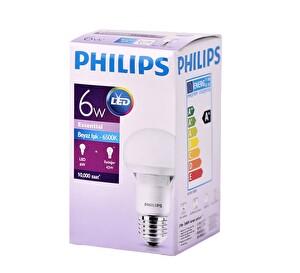 Philips Essential LEDBulb 6-42W E27 6500K 230V A60 TR