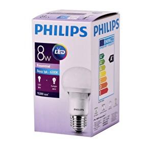 Philips Essential LEDBulb 8-48W E27 6500K 230V A60 TR