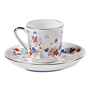 Güral Porselen Gözde Kahve Fincan Takımı 12 Parça