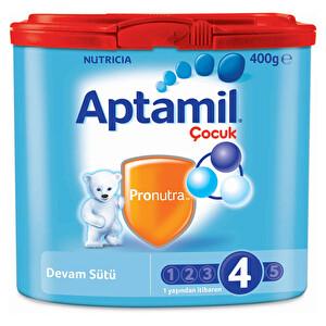 Aptamil 4 Devam Sütü 400Gr