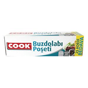 Cook Buzdolabı Poşeti Küçük Boy 100 Adet