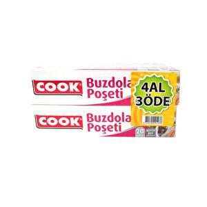 Cook Buzdolabı Poşeti 4 Al 3 Öde Büyük Boy