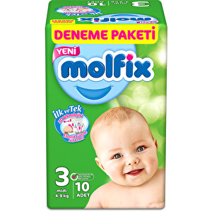 Molfix 3D Midi Deneme Paketi 10*12