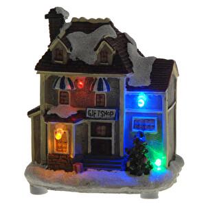 Led Işıklı Yılbaşı Evi 10 cm