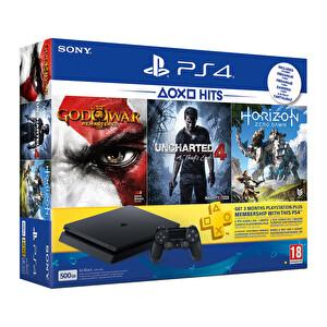 Sony Eurasia Playstation 4 500 GB (3 Oyun ve 3 Aylık PSN Plus Hediyeli)