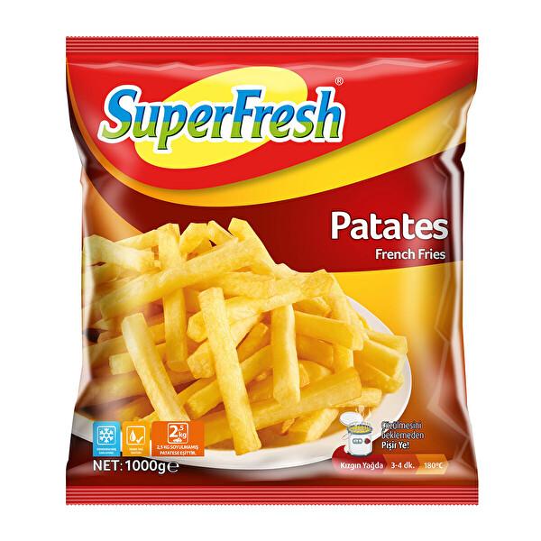 Superfresh Patates 1000 Gr 30082568 Carrefoursa