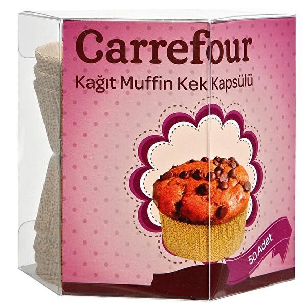 Carrefour Muffin Kalibi Pembe Tirtikli 65x38 30115658 Carrefoursa