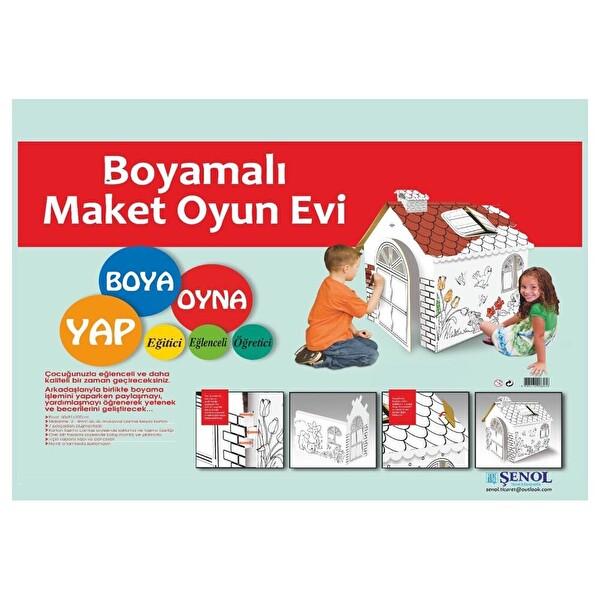 Boyamali Maket Oyun Evi 30158381 Carrefoursa