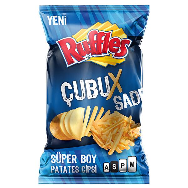Ruffles Cubuks Sade Patates Cipsi Super Boy 107 G 30167554