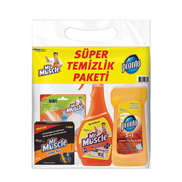 Mr Muscle Ve Pronto Super Temizlik Paketi 30172736 Carrefoursa