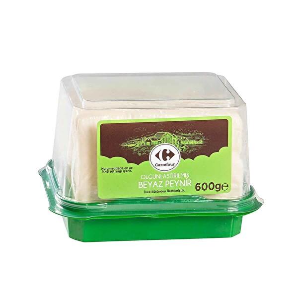 Carrefour Olgunlastirilmis Beyaz Peynir 600 G 30261637 Carrefoursa